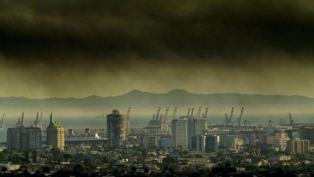Contaminación del aire en California