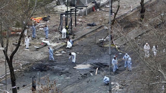 Анкара, взрыв 13 марта