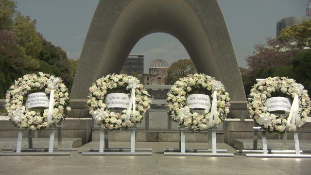 Wreath laid by Kerry