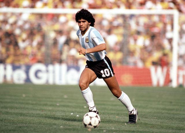 Diego Maradona en 1982