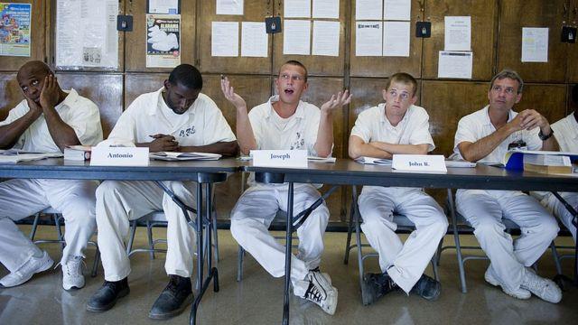 Prisioneros de Alabama en un programa educacional
