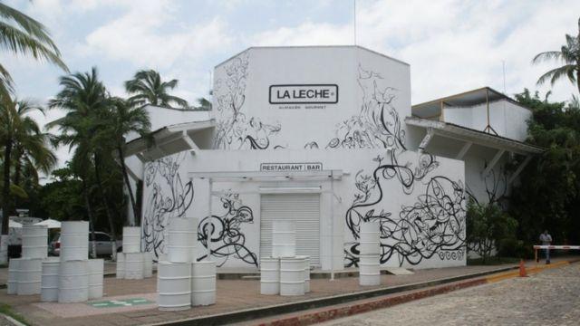 6人が拉致されたレストラン「ラ・レーチェ」はプエルトバジャルタの観光地の近くにある