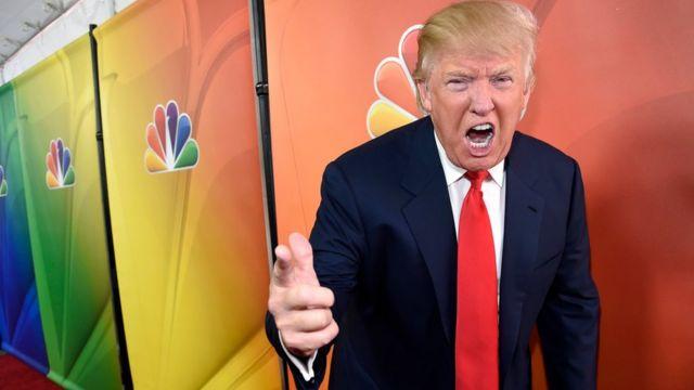 トランプ氏は米NBCのリアリティ番組「アプレンティス」で人気を得た。