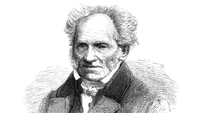 The German philosopher, Arthur Schopenhauer.
