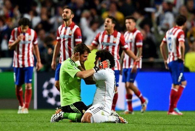 Final entre Atlético de Madrid y Real Madrid