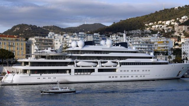 Superyachts are the calling card of some ultra-wealthy individuals