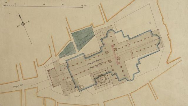 Planos de la Catedral de San Pablo