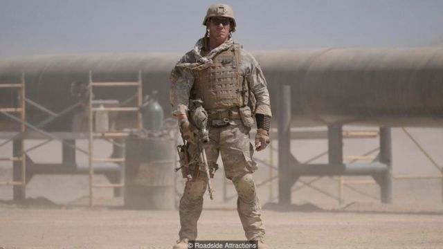 Doug Liman's new film The Wall is about two US soldiers who take cover behind a wall when pinned down by a sniper in Iraq
