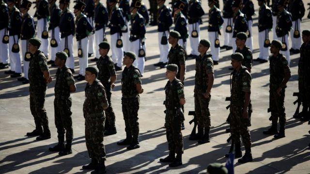 Cerimônia para marcar dia 31 de março, aniversário do golpe militar