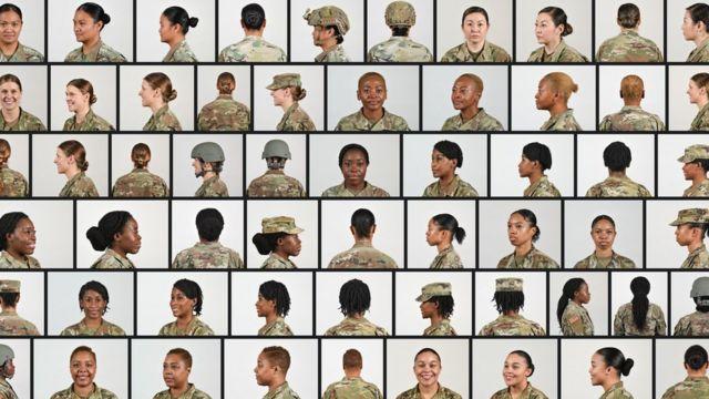 Прически, разрешенные тепрь в армии США