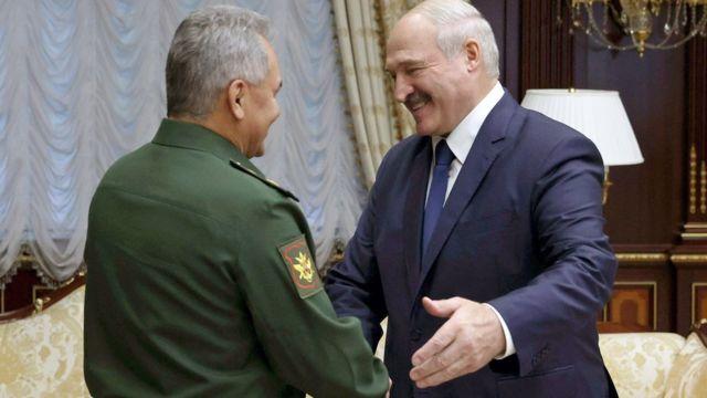 Шойгу и Лукашенко