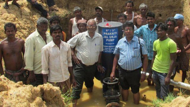 प्रकृति जल ऊर्जा पंप, ओडिशा