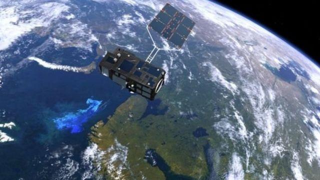 ईएसए का एक उपग्रह.