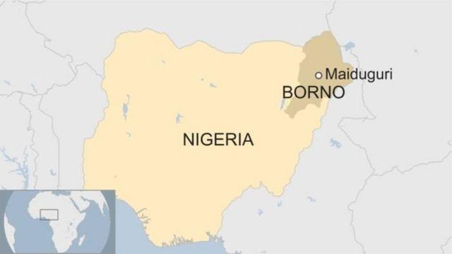 Map of Borno