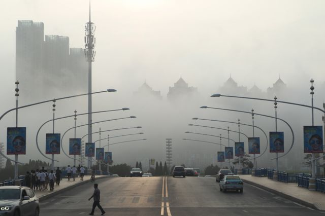 Далянь в тумане