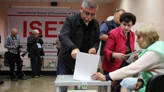 Gürcüstan parlament seçkiləri