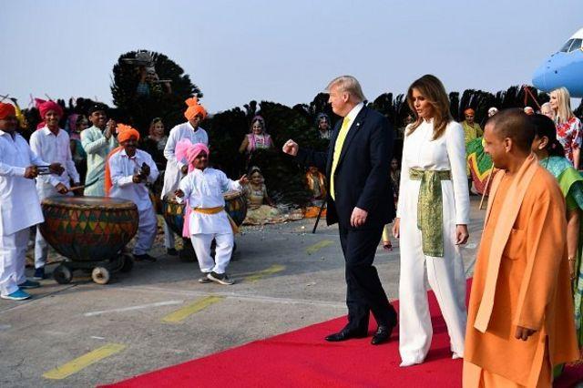 سفر ترامپ به هند