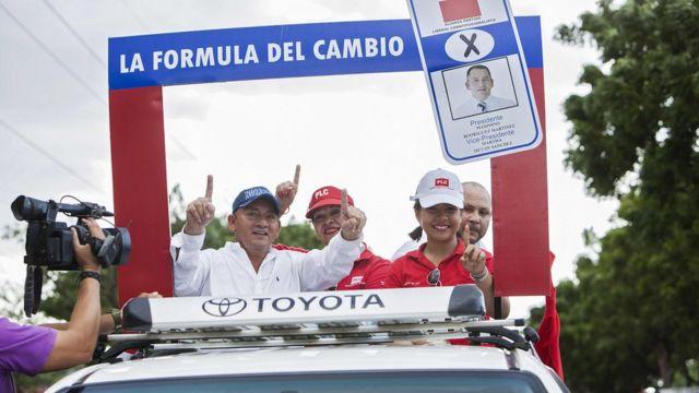 Campaña del PLI en Nicaragua