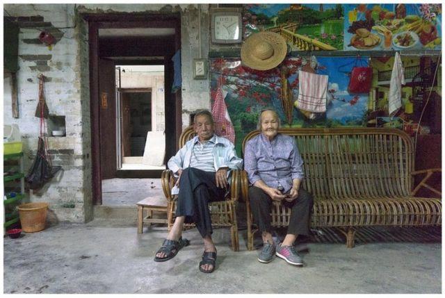許永揚在台山鄉村生活的表親