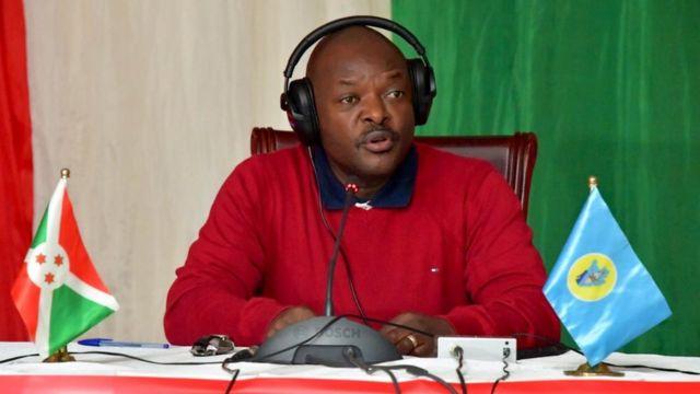 Perezida Petero Nkurunziza avuga ko bafise ibimenyesto vyose vyerekana ko ari u Rwanda ruheruka gutera u Burundi