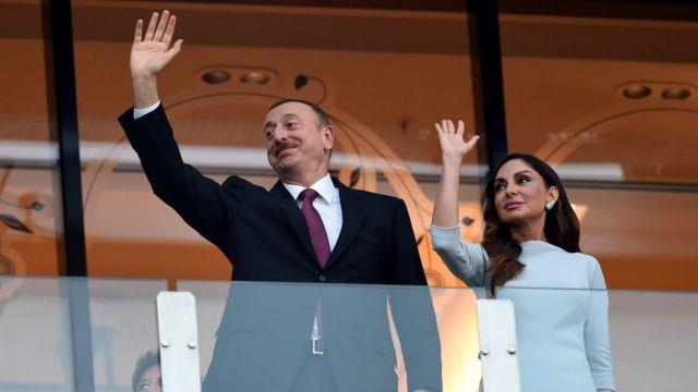 İlhan Əliyev və Mehriban Əliyeva
