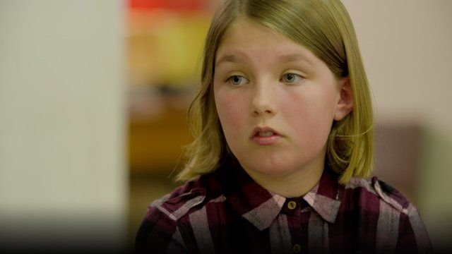 Nine-year-old Neve from Port Talbot