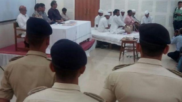 साबरमती जेल में गांधी जयंति