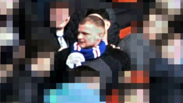 CCTV released of Rangers fan after incident at Aberdeen game