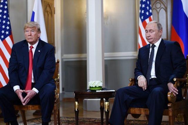 روسای جمهور آمریکا و روسیه