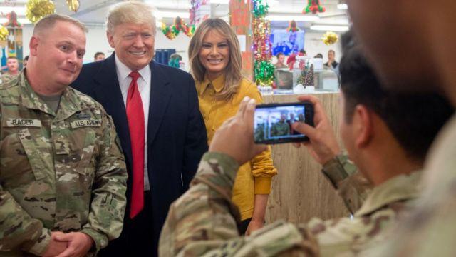 Трамп в Ираке