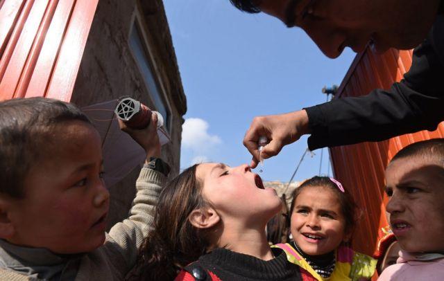 فلج کودکان در افغانستان