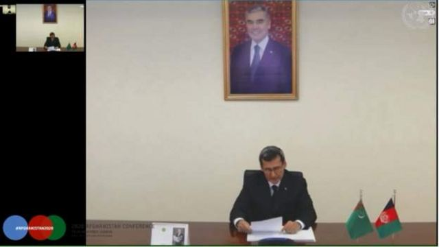 ترکمنستان گفته خط انتقال انرژی از ترکمنستان به افغانستان تا مرز این کشور تکمیل و بزودی در خاک افغانستان نیز آغاز میشود