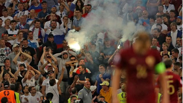 Russia England match
