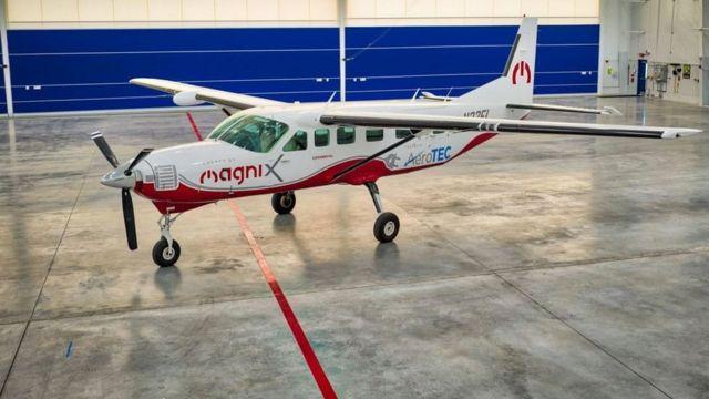 magniX elektrikli uçak