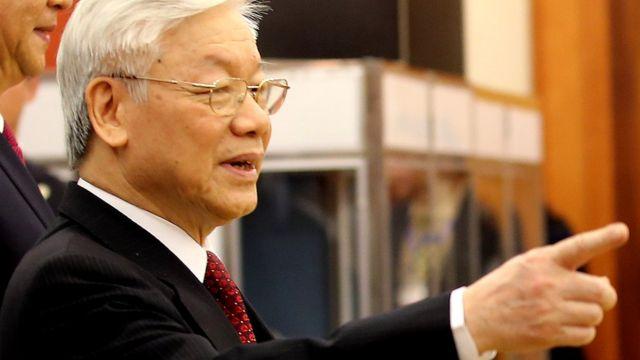 Tổng bí thư Đảng Cộng sản Việt Nam ông Nguyễn Phú Trọng