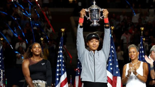 Naomi Osaka describes Serena Williams as her idol