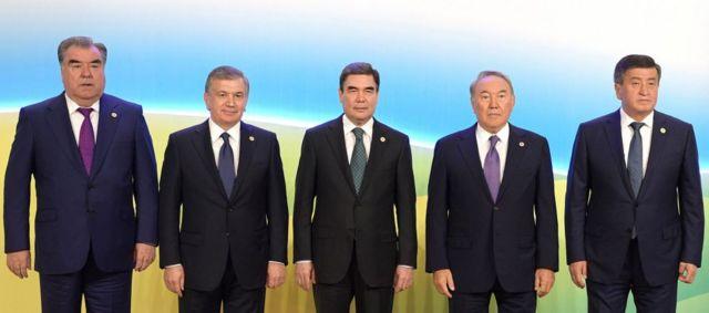 Борбор Азия лидерлери