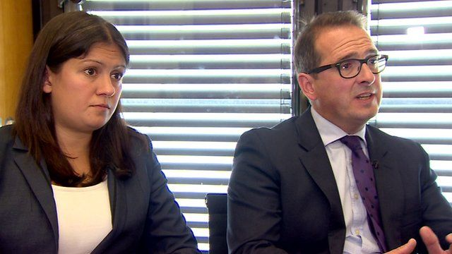 Lisa Nandy and Owen Smith