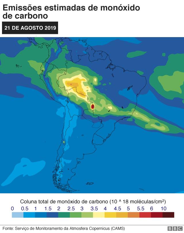 Monóxido de carbono (10^18 moléculas/cm2), 21 de agosto