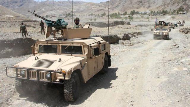 Из-за наступления талибов почти на всей территории Афганистана введен комендантский час