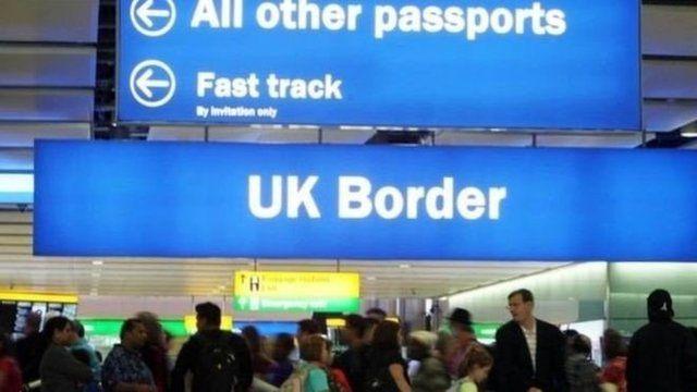英國邊境檢查