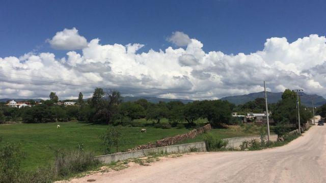 Zona rural de Tepetongo