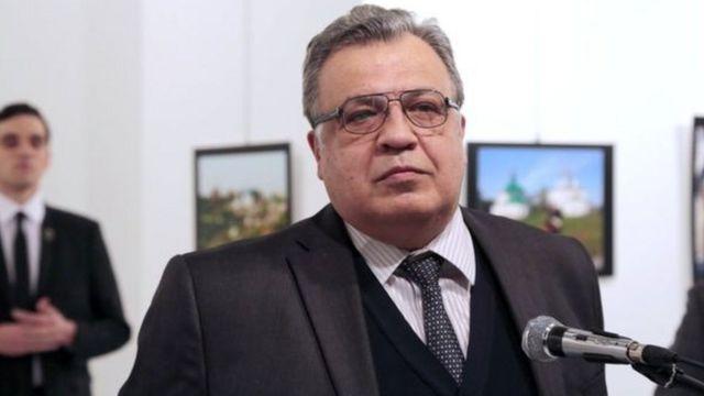 Andrey Karlov ranar Litinin