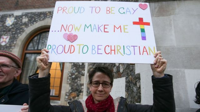 Church of England's rejection of gay marriage report welcomed
