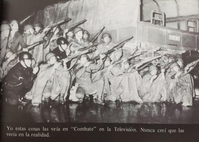 Soldados en el 68