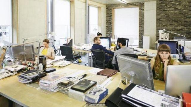 Suasana kantor