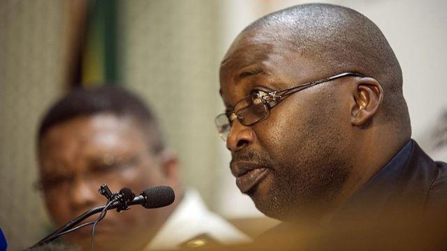 Le ministre sud-africain de la Justice, Michael Masutha