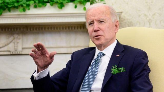 Joe Biden en entrevista