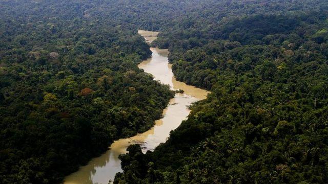 Rio Jamanxin, no Pará