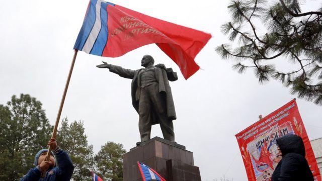 Rusia, revolusi oktober, Kirgistan